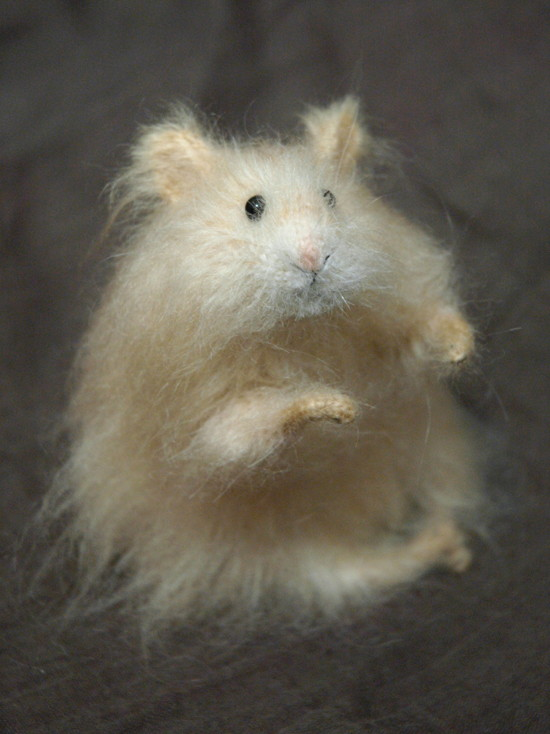 realistic hamster