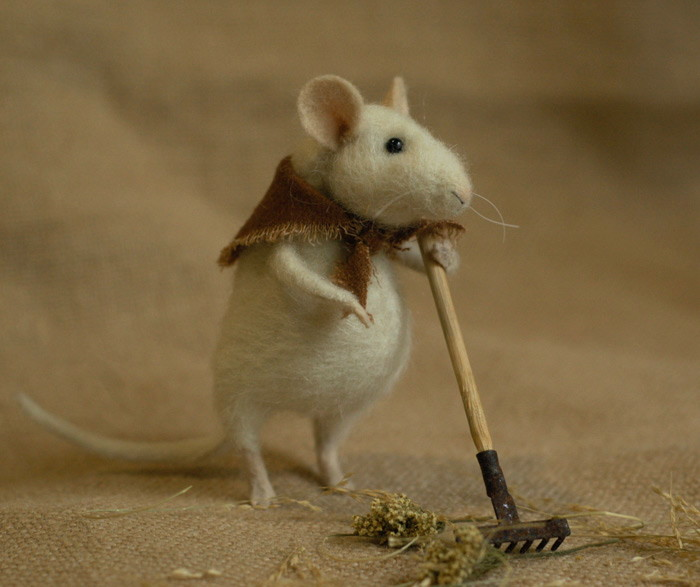 raking mouse
