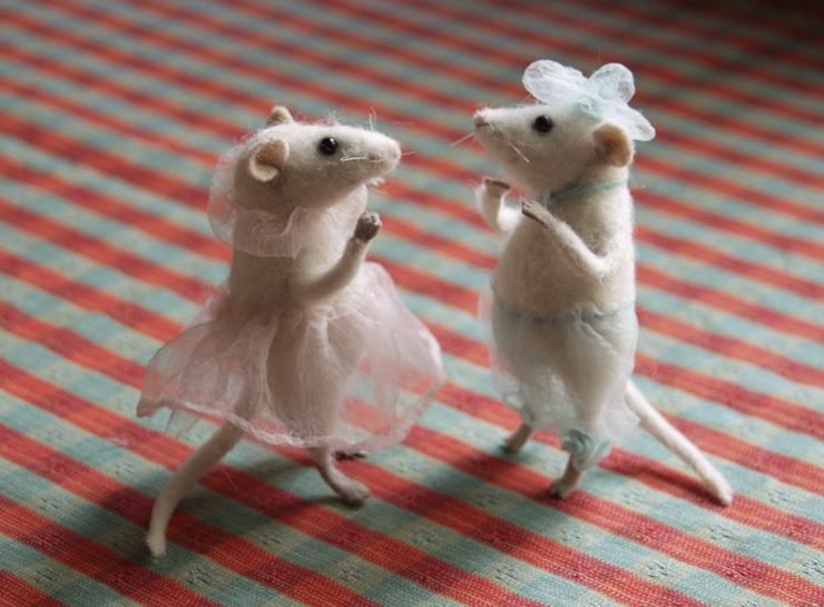 """newly married"" -   mice"