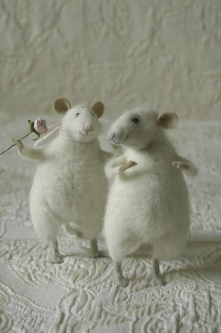 flirting mice