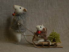 новогодние мышки