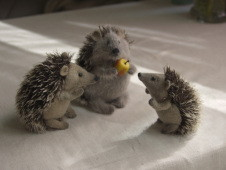 stuffed hedgehogs