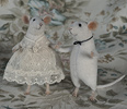 stuffed mouse couple