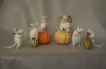 miniature pumpkin mice