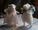 """romantic mice"" stuffed animals"