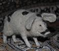 пятнистая свинья (валяние)