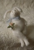 """rabbit in love"" stuffed animal"